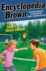 Book cover of ENCY BROWN & THE CASE OF THE SOCCER SCHE