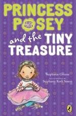 Book cover of PRINCESS POSEY 05 TINY TREASURE