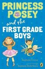Book cover of PRINCESS POSEY 08 1ST GRADE BOYS