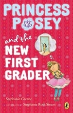 Book cover of PRINCESS POSEY 06 NEW 1ST GRADER