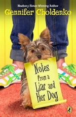 Book cover of NOTES FROM A LIAR & HER DOG