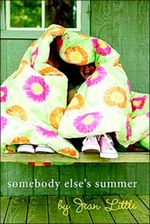 Book cover of SOMEBODY ELSE'S SUMMER