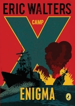 Book cover of CAMP X ENIGMA