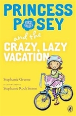 Book cover of PRINCESS POSEY 10 CRAZY LAZY VACATION