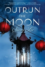 Book cover of OUTRUN THE MOON