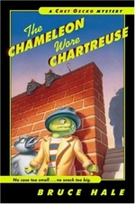 Book cover of CHAMELEON WORE CHARTREUSE