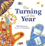 Book cover of TURNING OF THE YEAR