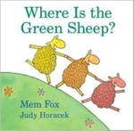 Book cover of WHERE IS THE GREEN SHEEP