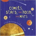 Book cover of COMETS STARS THE MOON & MARS