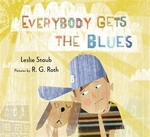 Book cover of EVERYBODY GETS THE BLUES