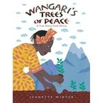 Book cover of WANGARI'S TREES OF PEACE
