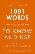 Book cover of 1001 WORDS YOU NEED TO KNOW & USE