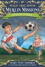 Book cover of MAGIC TREE HOUSE 52 SOCCER ON SUNDAY
