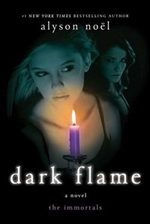 Book cover of IMMORTALS 04 DARK FLAME