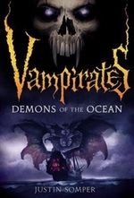 Book cover of VAMPIRATES 01 DEMONS OF THE OCEAN