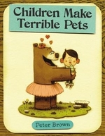 Book cover of CHILDREN MAKE TERRIBLE PETS