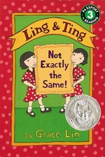 Book cover of LING & TING NOT EXACTLY THE SAME