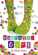 Book cover of CONFETTI GIRL
