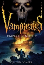 Book cover of VAMPIRATES 05 EMPIRE OF THE NIGHT