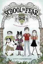 Book cover of SCHOOL OF FEAR 01