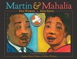 Book cover of MARTIN & MAHALIA - HIS WORDS HER SONG