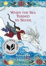 Book cover of WHEN THE SEA TURNED TO SILVER