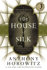 Book cover of HOUSE OF SILK A SHERLOCK HOLMES NOVEL