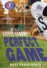 Book cover of LITTLE LEAGUE PERFECT GAME