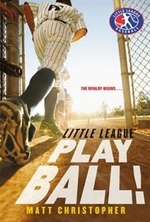 Book cover of LITTLE LEAGUE - PLAY BALL