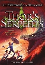 Book cover of THOR'S SERPENTS