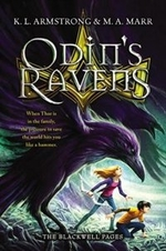 Book cover of BLACKWELL PAGES 02 ODIN'S RAVENS
