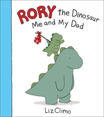 Book cover of RORY THE DINOSAUR ME & MY DAD