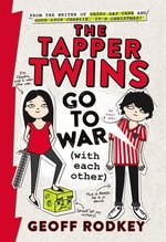 Book cover of TAPPER TWINS GO TO WAR