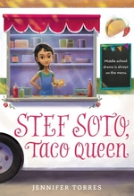Book cover of STEF SOTO TACO QUEEN