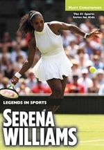 Book cover of SERENA WILLIAMS - LEGENDS IN SPORTS