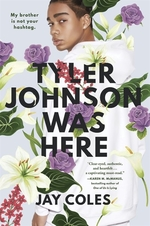 Book cover of TYLER JOHNSON WAS HERE