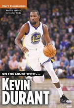 Book cover of ON THE COURT WITH KEVIN DURANT