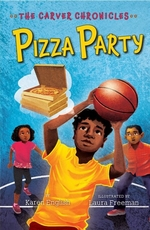 Book cover of CARVER CHRONICLES 06 PIZZA PARTY