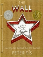 Book cover of WALL GROWING UP BEHIND THE IRON CURTAIN