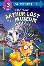 Book cover of ARTHUR LOST IN THE MUSEUM - STEP 3