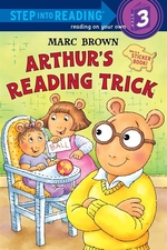 Book cover of ARTHUR'S READING TRICK