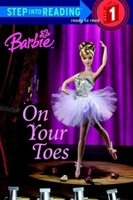 Book cover of BARBIE ON YOUR TOES