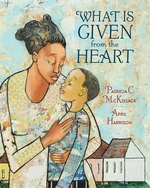 Book cover of WHAT IS GIVEN FROM THE HEART