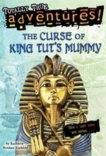 Book cover of CURSE OF KING TUT'S MUMMY