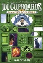 Book cover of 100 CUPBOARDS BOOK 2 DANDELION FIRE