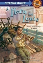 Book cover of HORN FOR LOUIS