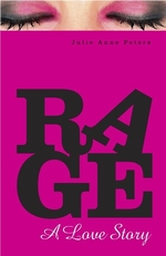 Book cover of RAGE A LOVE STORY