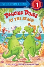 Book cover of DANCING DINOS AT THE BEACH