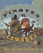 Book cover of PIRATES VS COWBOYS