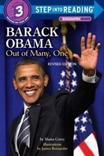 Book cover of BARACK OBAMA - OUT OF MANY 1